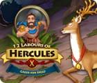 Die 12 Heldentaten des Herkules X: Schneller als der Wind Spiel