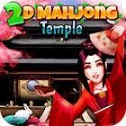 2D Mahjong Temple Spiel