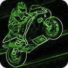 3D Neon Race Spiel
