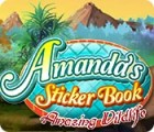 Amanda's Sticker Book: Amazing Wildlife Spiel