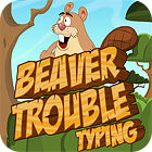 Beaver Trouble Typing Spiel