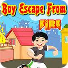 Boy Escape From Fire Spiel