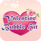 Valentine Bubble Hit Spiel