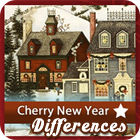 Cherry New Year 5 Differences Spiel