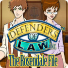 Defenders of Law: The Rosendale File Spiel