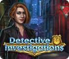 Detective Investigations Spiel