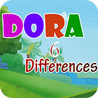 Dora Six Differences Spiel