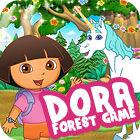 Dora. Forest Game Spiel