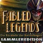 Fabled Legends: Die Rückkehr des Rattenfängers Sammleredition Spiel
