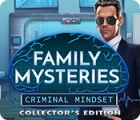 Family Mysteries: Criminal Mindset Collector's Edition Spiel