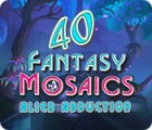 Fantasy Mosaics 40: Alien Abduction Spiel