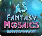 Fantasy Mosaics 43: Haunted Forest Spiel