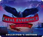 Fatal Evidence: Art of Murder Collector's Edition Spiel
