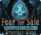Fear For Sale: Mystery of McInroy Manor Strategy Guide Spiel