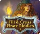 Ausfüllen und Ankreuzen: Piratenrätsel 3 Spiel