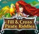 Ausfüllen und ankreuzen: Piratenrätsel Spiel