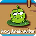 Frog Drink Water Spiel