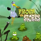 Frogs vs Storks Spiel