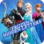 Frozen. Hidden Letters Spiel