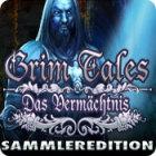 Grim Tales: Das Vermächtnis Sammleredition Spiel