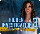 Hidden Investigation 3: Crime Files Spiel