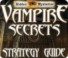 Hidden Mysteries: Vampire Secrets Strategy Guide Spiel