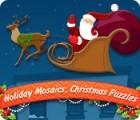 Urlaubsmosaik: Weihnachtsrätsel Spiel