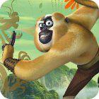Kung Fu Panda 2 Monkey Run Spiel