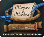 Memoirs of Murder: Willkommen in Hidden Pines Sammleredition Spiel