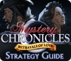 Mystery Chronicles: Betrayals of Love Strategy Guide Spiel