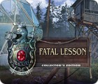 Mystery Trackers: Fatal Lesson Collector's Edition Spiel