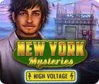 New York Mysteries: Hochspannung Spiel