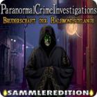 Paranormal Crime Investigations: Bruderschaft der Halbmondschlange Sammleredition Spiel