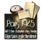 Paris 1925 Spiel