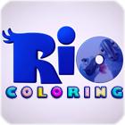 Rio der Film Färbung Spiel