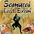 Samurai Last Exam Spiel