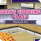 Sara's Cooking Class: Rhubarb Pie Spiel