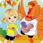 Thanksgiving Turkey Dress-Up Spiel