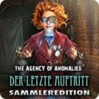 The Agency of Anomalies: Der letzte Auftritt Sammleredition Spiel