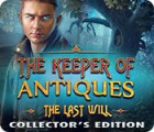 The Keeper of Antiques: Der letzte Wille Sammleredition Spiel