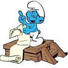 The Smurfs Brainy's Bad Day Spiel