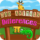 Zoo Animals Differences Spiel