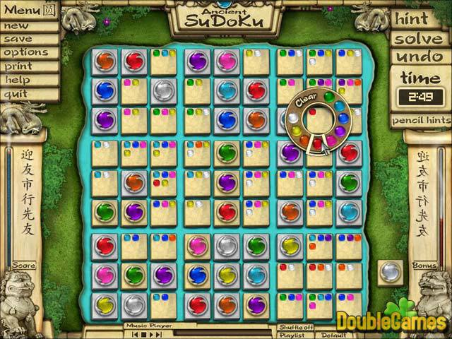 Kostenloser Download Ancient Sudoku Screenshot 1