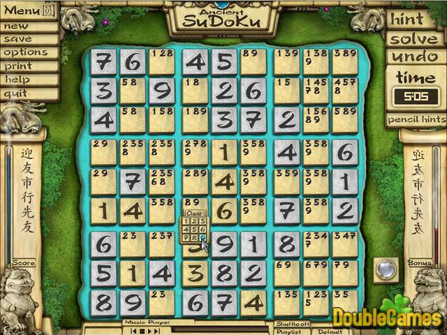 Kostenloser Download Ancient Sudoku Screenshot 2