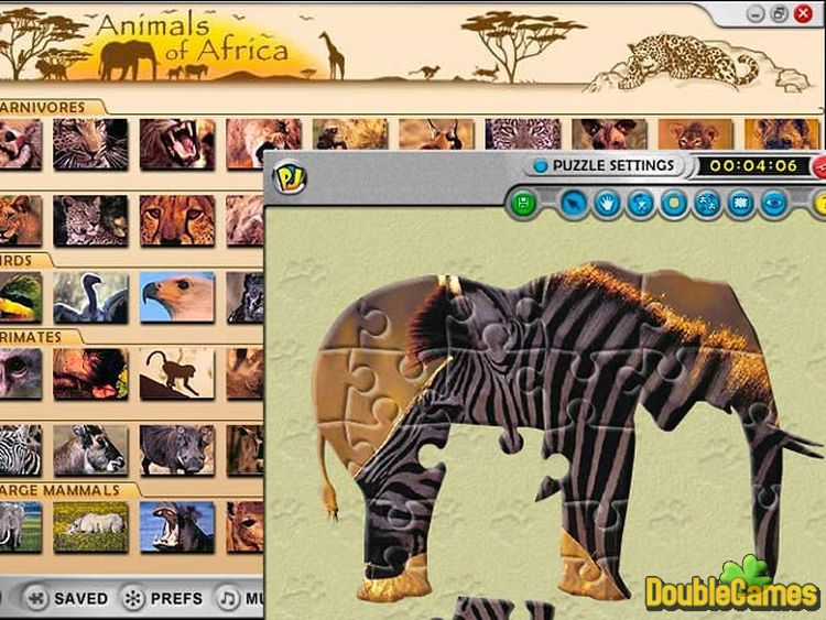 Free Download Animals of Africa Screenshot 2