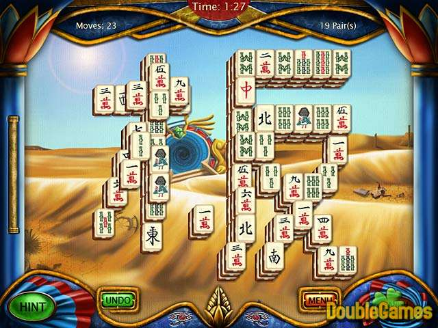 Kostenloser Download Art Mahjongg Egypt Screenshot 1