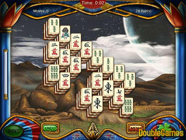 Kostenloser Download Art Mahjongg Egypt Screenshot 3