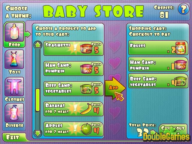 Free Download Baby Luv Screenshot 2