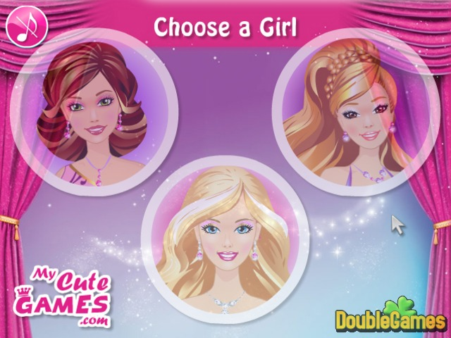 Kostenloser Download Barbie and Friends Make up Screenshot 1
