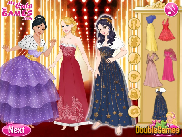 Kostenloser Download Barbie and The Princesses: Oscar Ceremony Screenshot 2